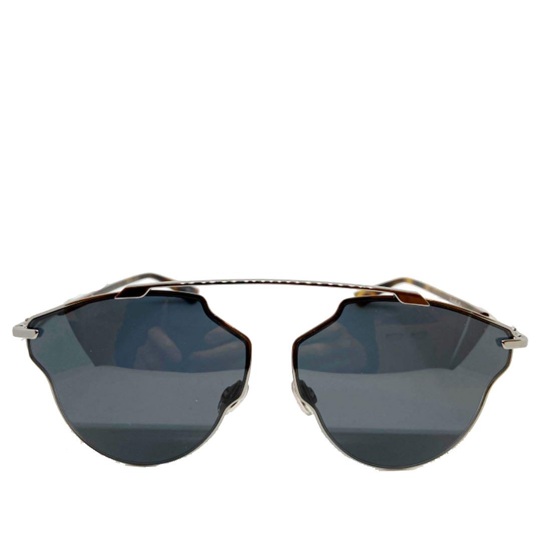 Christian Dior クリスチャン ディオール サングラス アビエータ SO REAL POP メタリックブラック KJ1IR