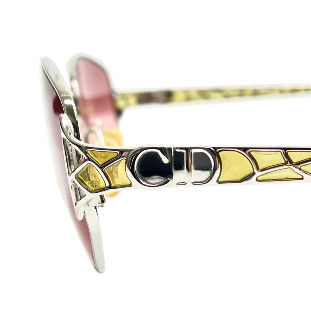 Christian Dior クリスチャンディオール サングラス パープル  シルバー 2925