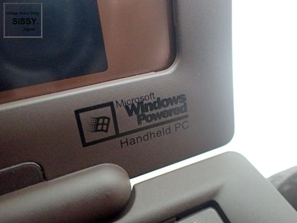 ルイ・ヴィトン ■LOUIS VUITTON■ ダミエ セリュックス クラヴィエ PC パソコン エベヌ 2003年顧客限定 25周年記念 Windows CE