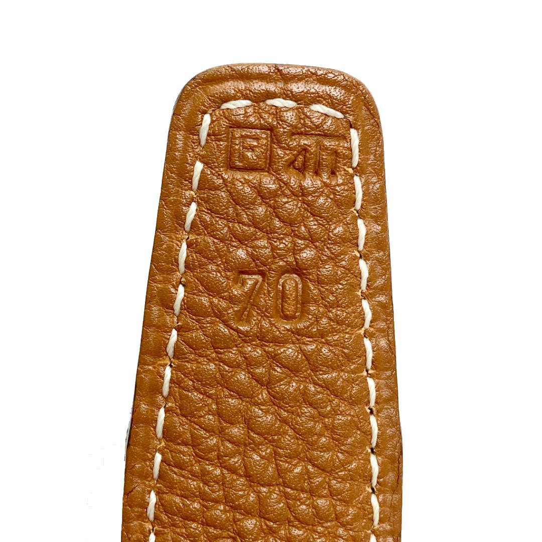 HERMES エルメス コンスタンス Hベルト 70 ブラック ゴールド ゴールド金具 □F刻印(2002年頃製造)