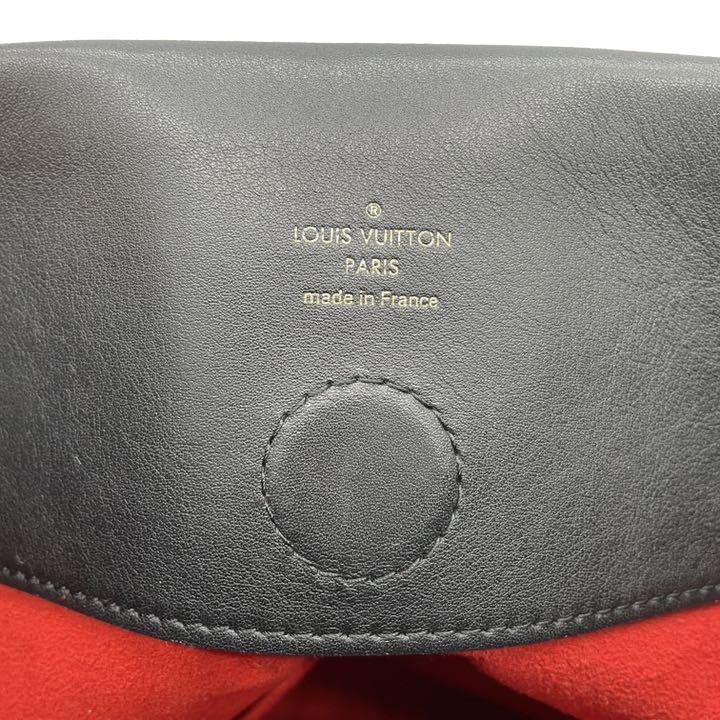 LOUIS VUITTON ルイヴィトン テュイルリーホーボー ワンショルダーバッグ モノグラム レザー ブラウン ブラック レッド M43154