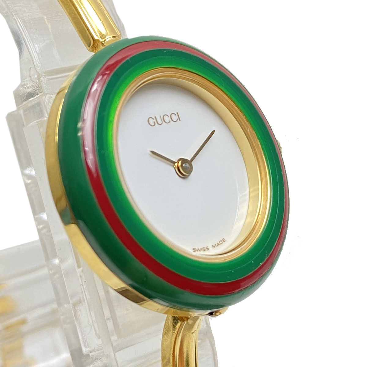 GUCCI グッチ レディース腕時計 チェンジベゼルウォッチ 12色 クオーツ QZ  11/12.2