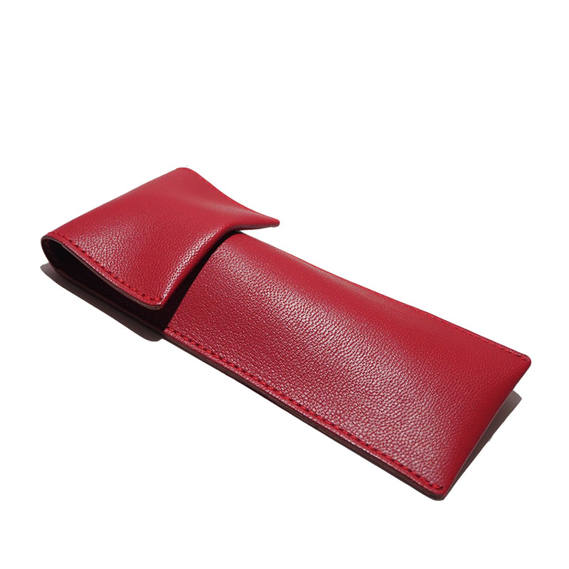 PEN CASE / red