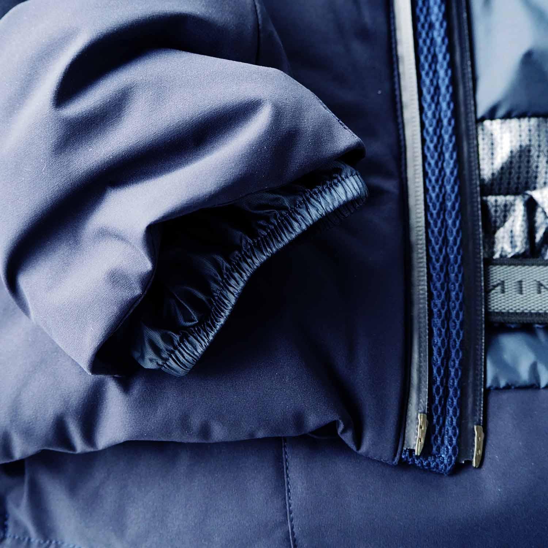MIZUSAWA DOWN JACKET MOUNTAINEER GRAPHITE NAVY 水沢ダウンジャケット マウンテニア ネイビー メンズモデル