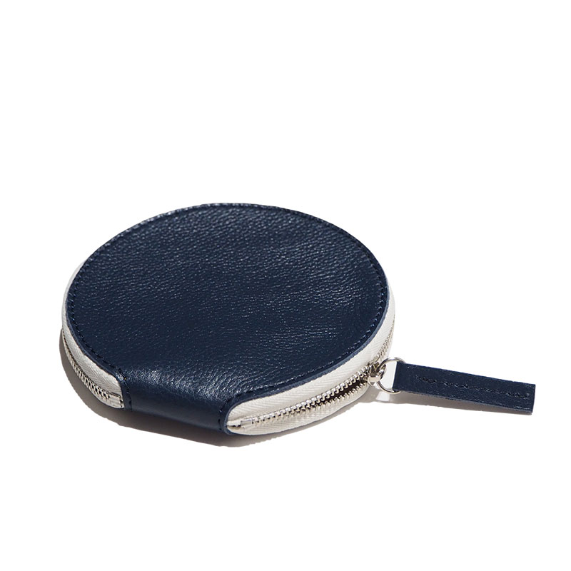 pouch circle / navy