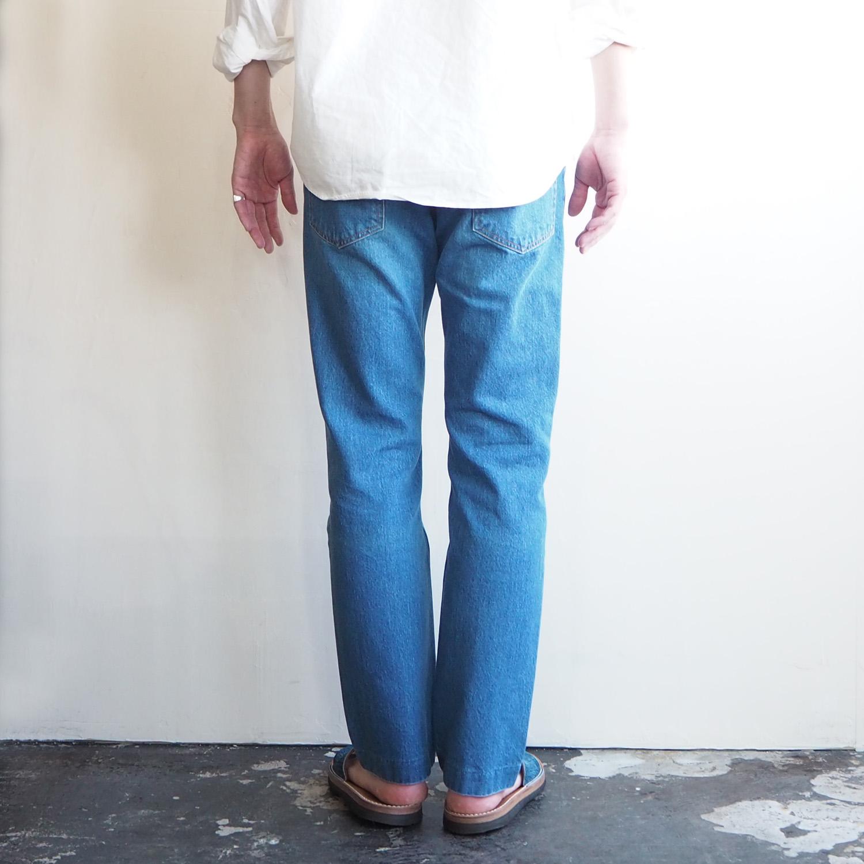 NEPLA. ネプラ MENS メンズ STRAIGHT PANTS BOTANICAL COLOR ストレートパンツ ボタニカルカラー FADE BLUE フェイドブルー