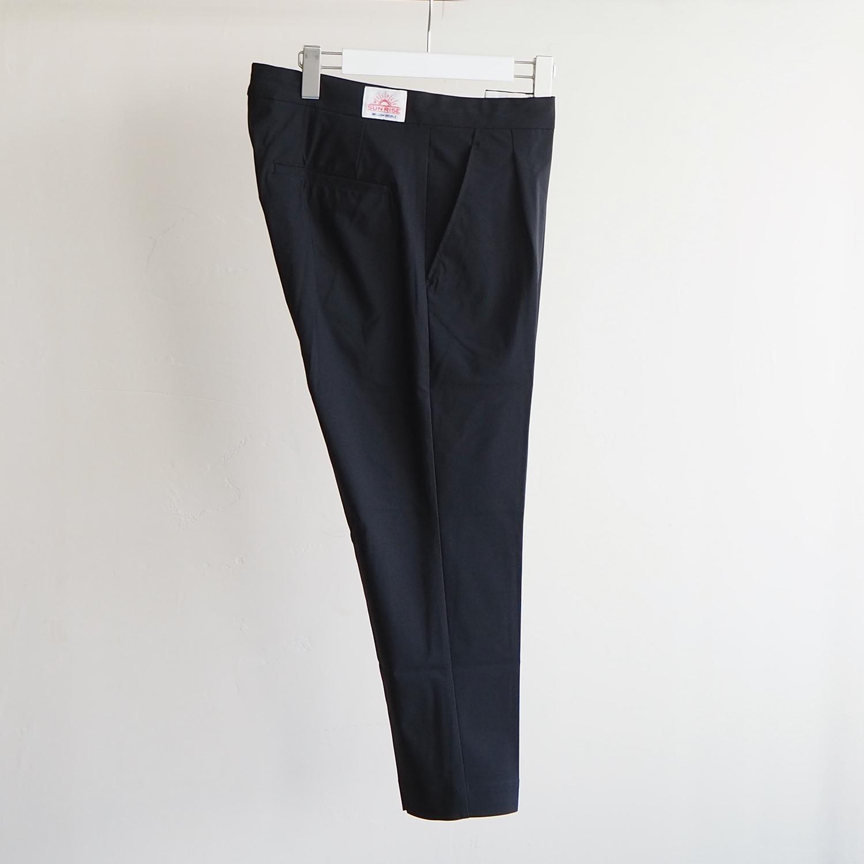 melple メイプル Tomcat One Tuck Relax Pants トムキャットリラックスパンツ ブラック