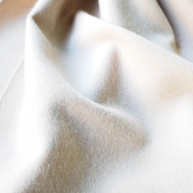 THROW スロー ストール・マフラー BIANCA ピュアキャメル ホワイトキャメル