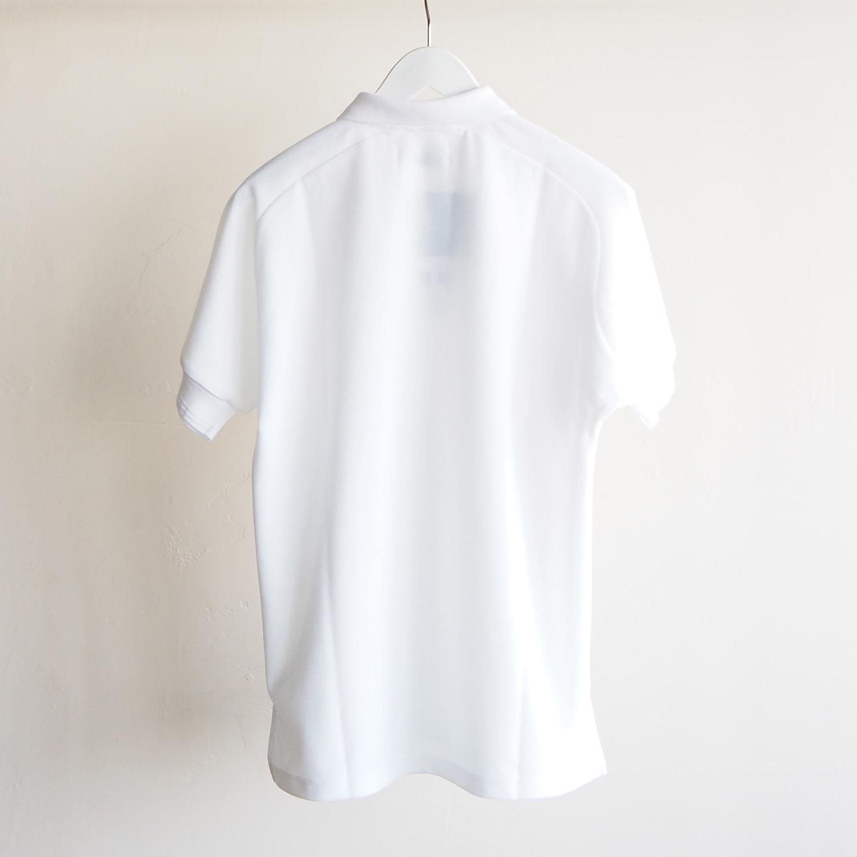 WEEKENDER by melple ウィークエンダー バイ メイプル honeycotech Polo Shirts ポロシャツ ホワイト