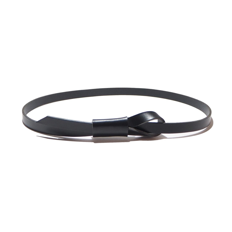 _Fot フォート knot belt ノットベルト black ブラック