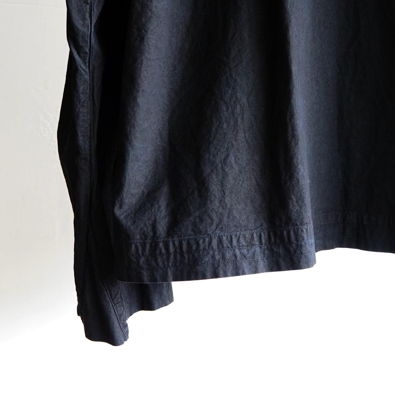 SH エスエイチ FLIGHT SHIRT (GARMENT DYE) フライトシャツ 藍泥染め