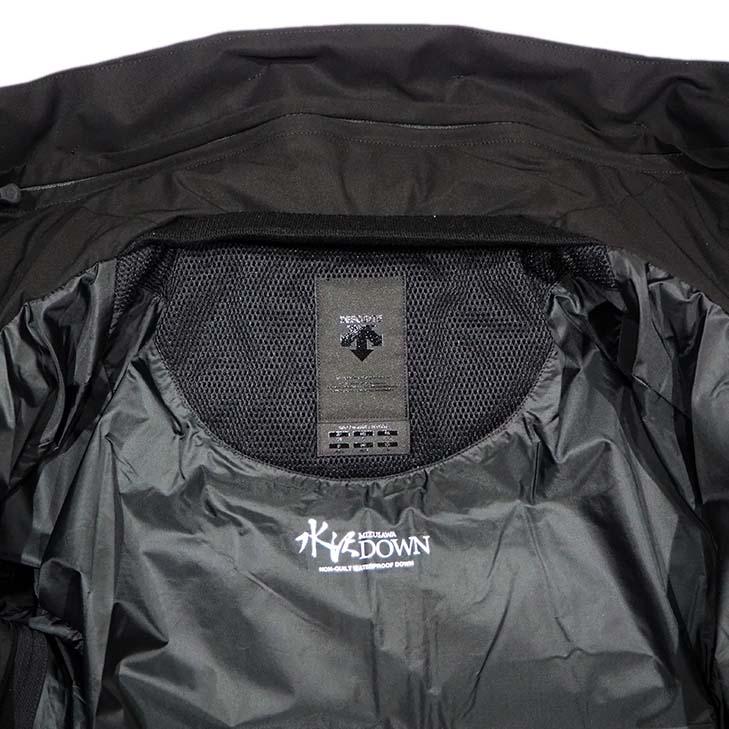 MIZUSAWA DOWN JACKET MOUNTAINEER BLACK 水沢ダウンジャケット マウンテニア ブラック メンズモデル