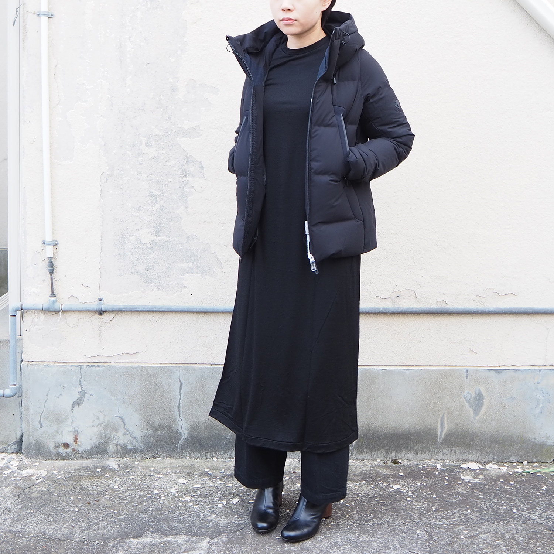 DESCENTE ALLTERRAIN MIZUSAWA DOWN JACKET MOUNTAINEER-L BLACK 水沢ダウンジャケット マウンテニア ウィメンズモデル