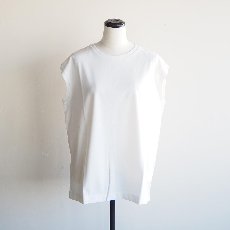 NEPLA. WOMENS SLEEVELESS-T ネプラ ウィメンズ スリーブレスTシャツ ホワイト