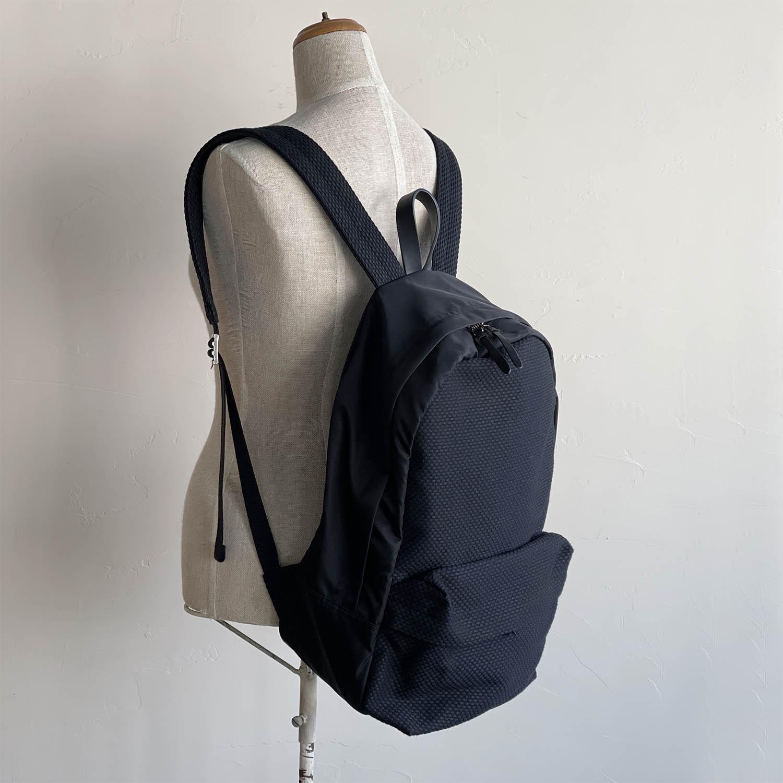 Cabas No.34 Backpack Black/Black キャバ バックパック ブラック/ブラック