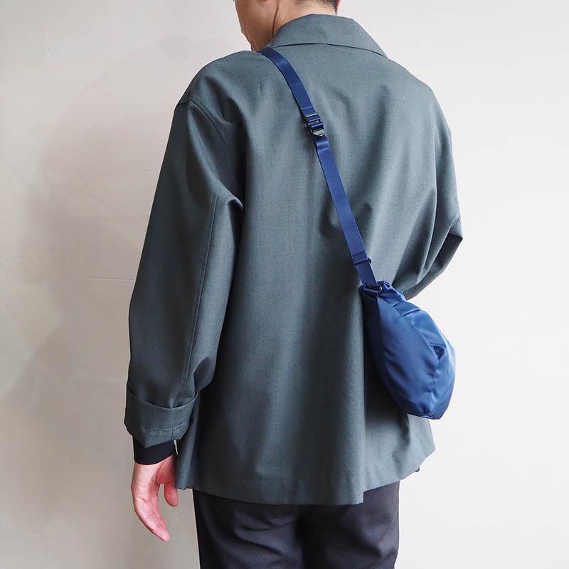 LEAF LINE spring shoulder No.1 ナイロンショルダーバッグ (small) ネイビー