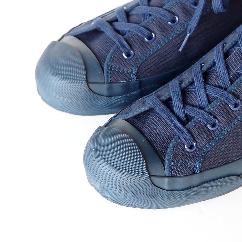 STUDIO NICHOLSON スタジオニコルソン MERINO / Vulcanized Sole Canvas Shoes (moonstar) DARK NAVY ダークネイビー
