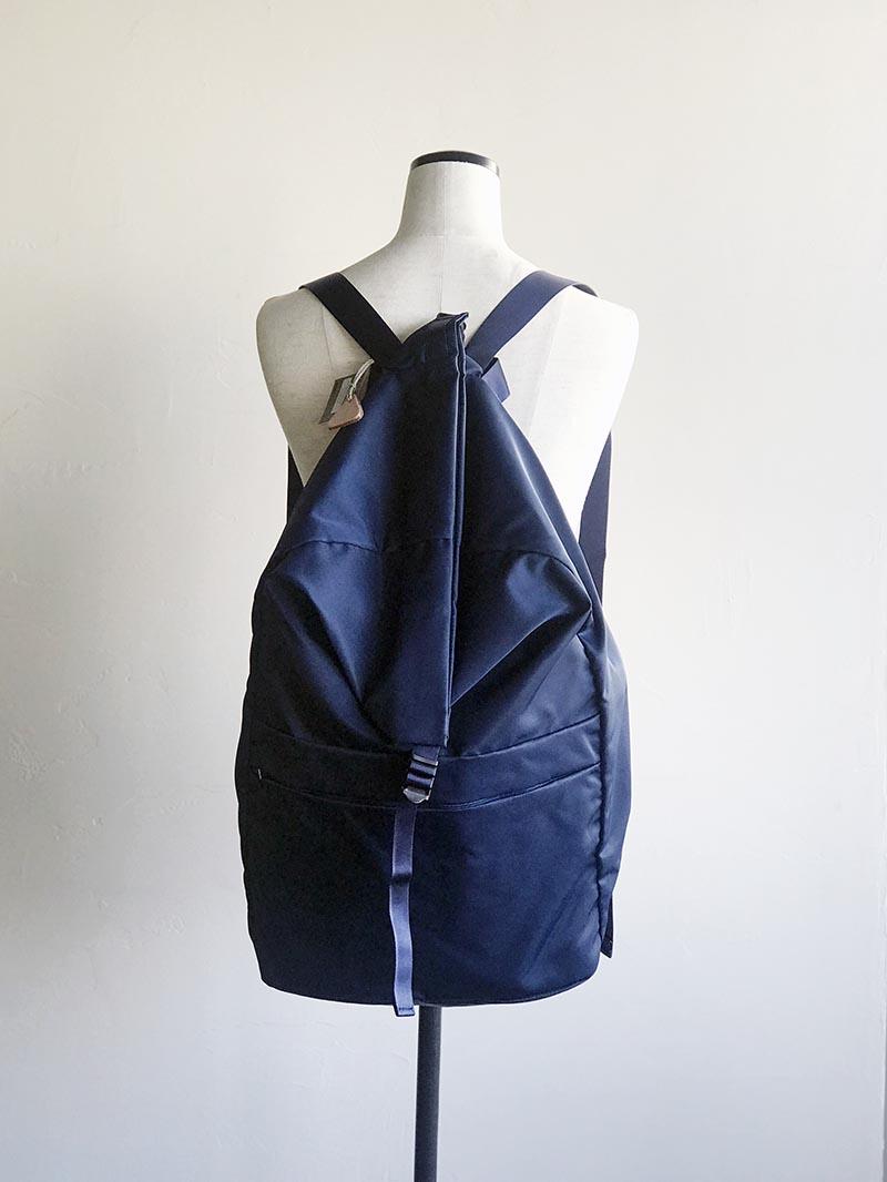 LEAF LINE spring backpack No.2 ナイロンリュック (large) ブラック