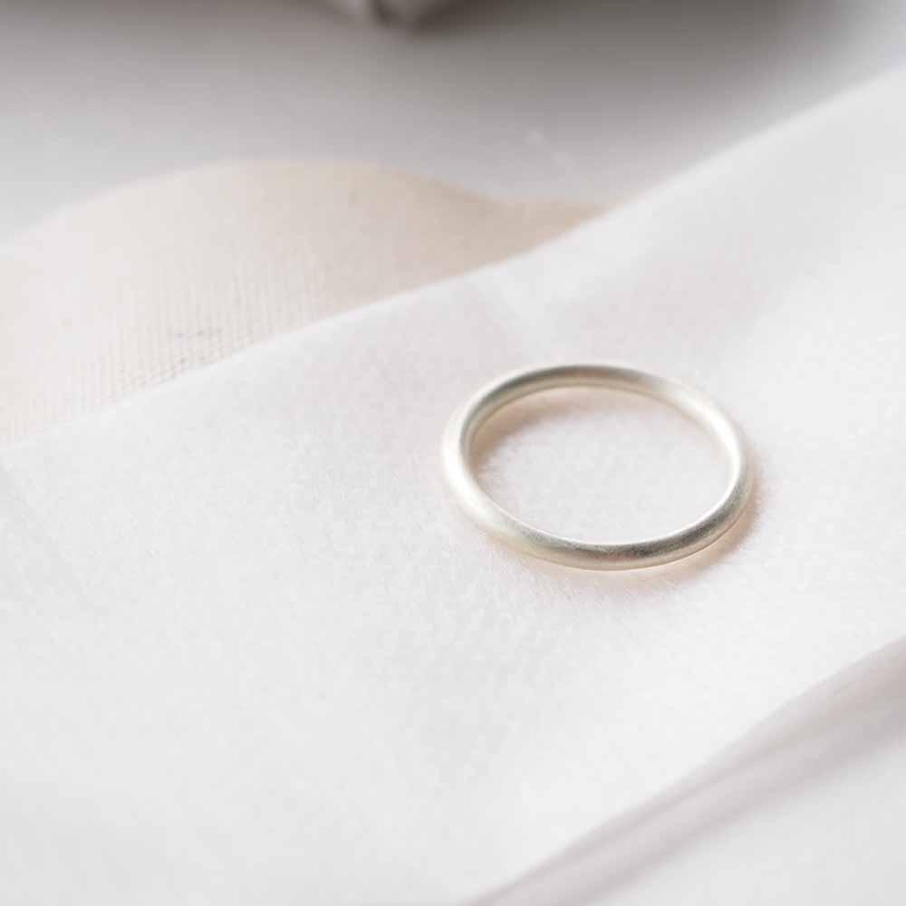 line ring circle SV925 silver ラインリング シルバー