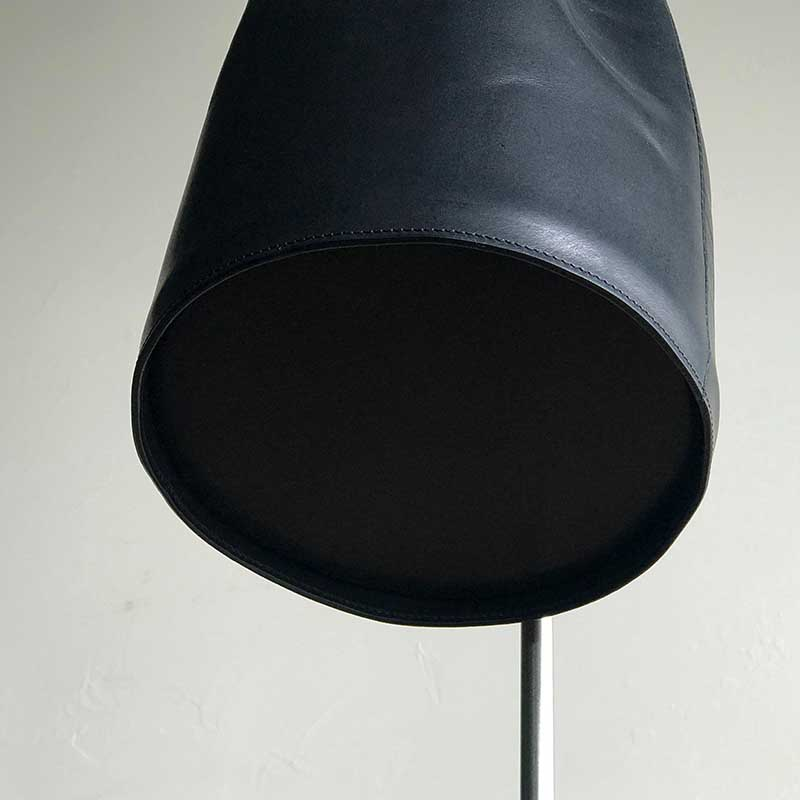GASSAI BAG  BLACK レザーミニバケットバッグ ブラック