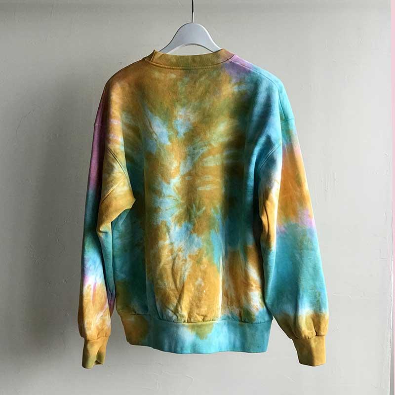 No Problemo Tie Dye Sweat Multi タイダイスウェットシャツ マルチカラー