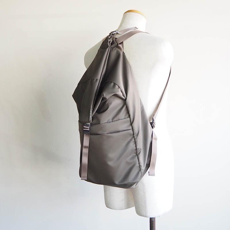 LEAF LINE spring backpack No.2 ナイロンリュック (large) オリーブ
