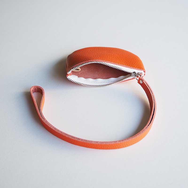 half circle pouch ハーフサークルポーチ