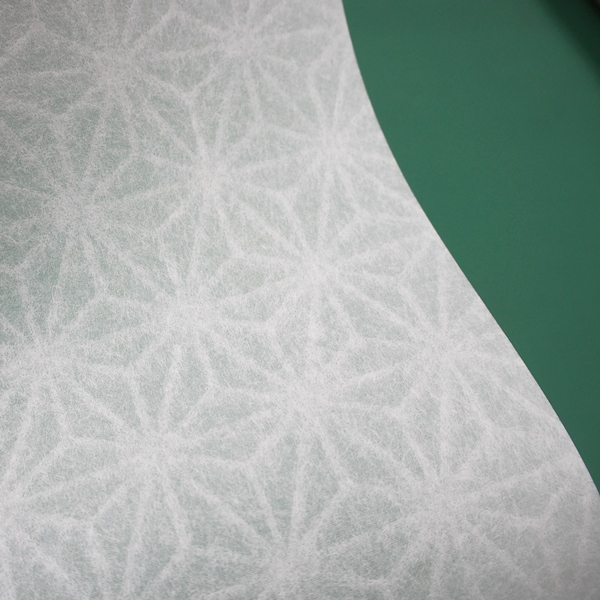 プラスチック障子紙 No.19 麻の花 930×1850mm 0.2mm厚 (しょうじ紙/障子/耐久性/丈夫/犬・猫/引っ掻き/おしゃれ)