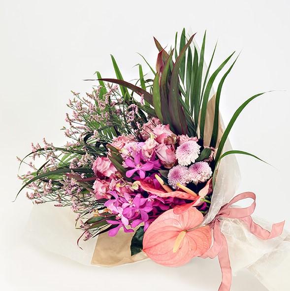 花束Lサイズ(ピンク系)
