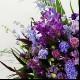 スタンド花 Lサイズ(パープル系)