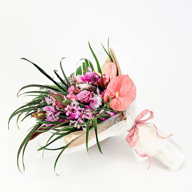 花束 Mサイズ(ピンク系)