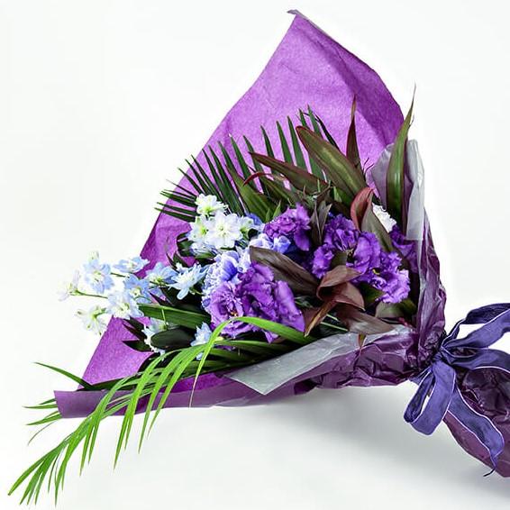 花束 Mサイズ(パープル・ブルー系)
