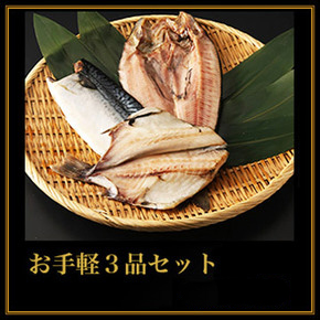 北海道特大干物ギフトお手軽4,000円セット