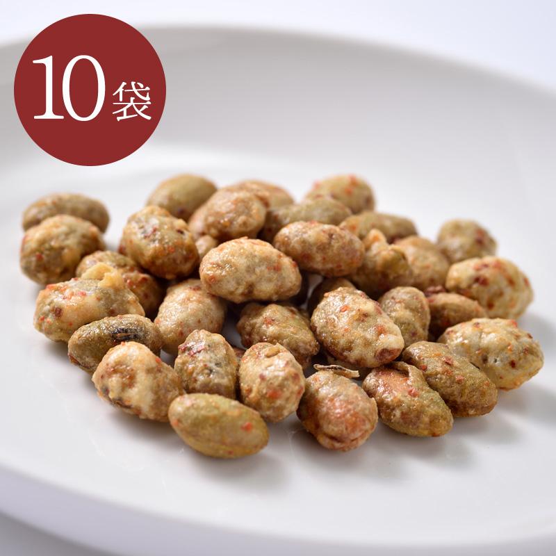 辛味噌味カリカリ大豆75g 10袋セット