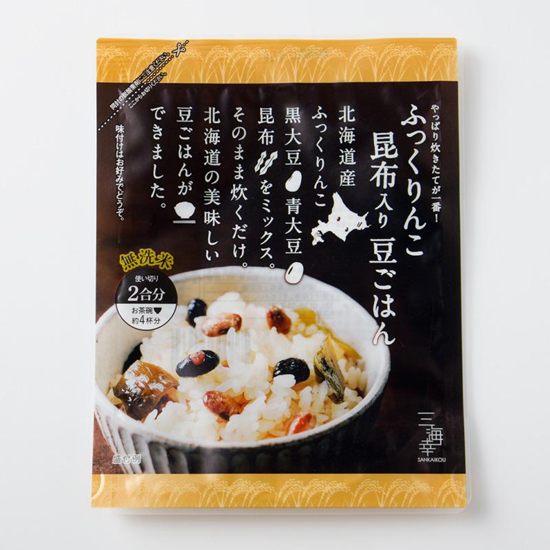 ふっくりんこ昆布入り豆ごはん 24袋セット