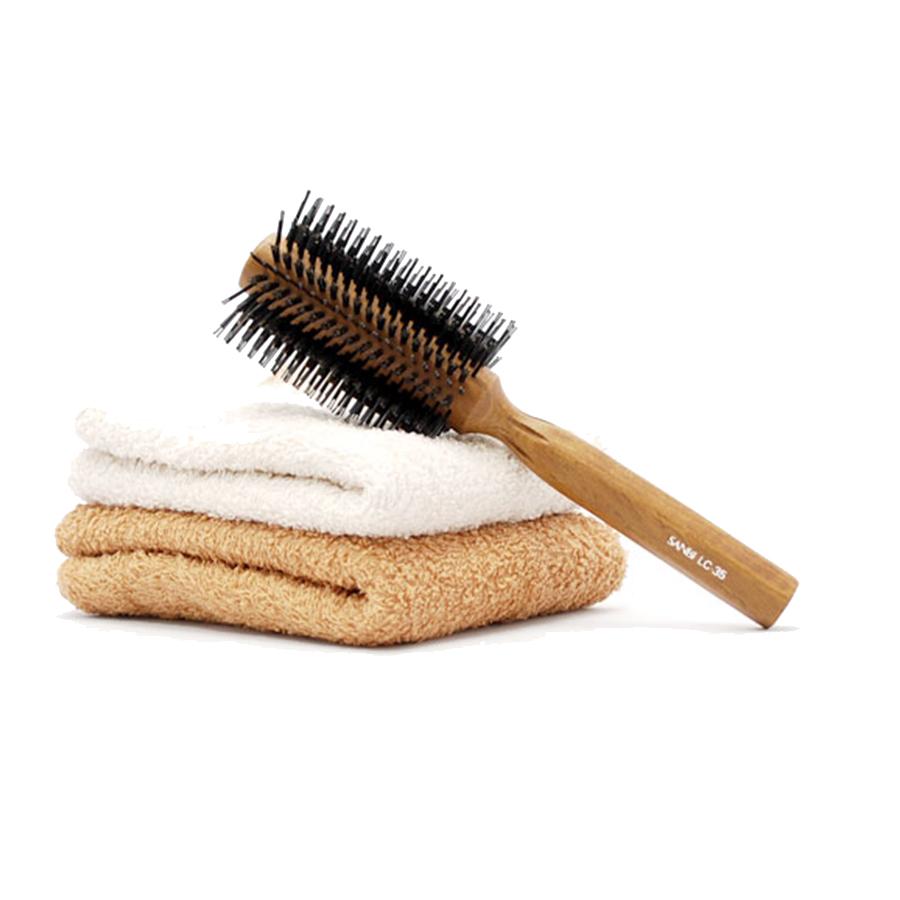 縮毛矯正毛&くせ毛向き・しっかりキャッチロールブラシ