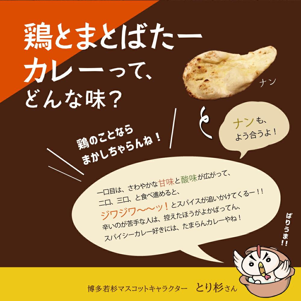 鶏とまとばたーカレー 3食セット