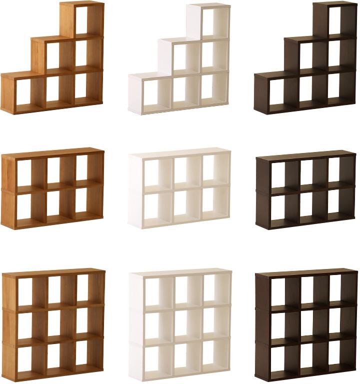 木製オープンラック【2段】