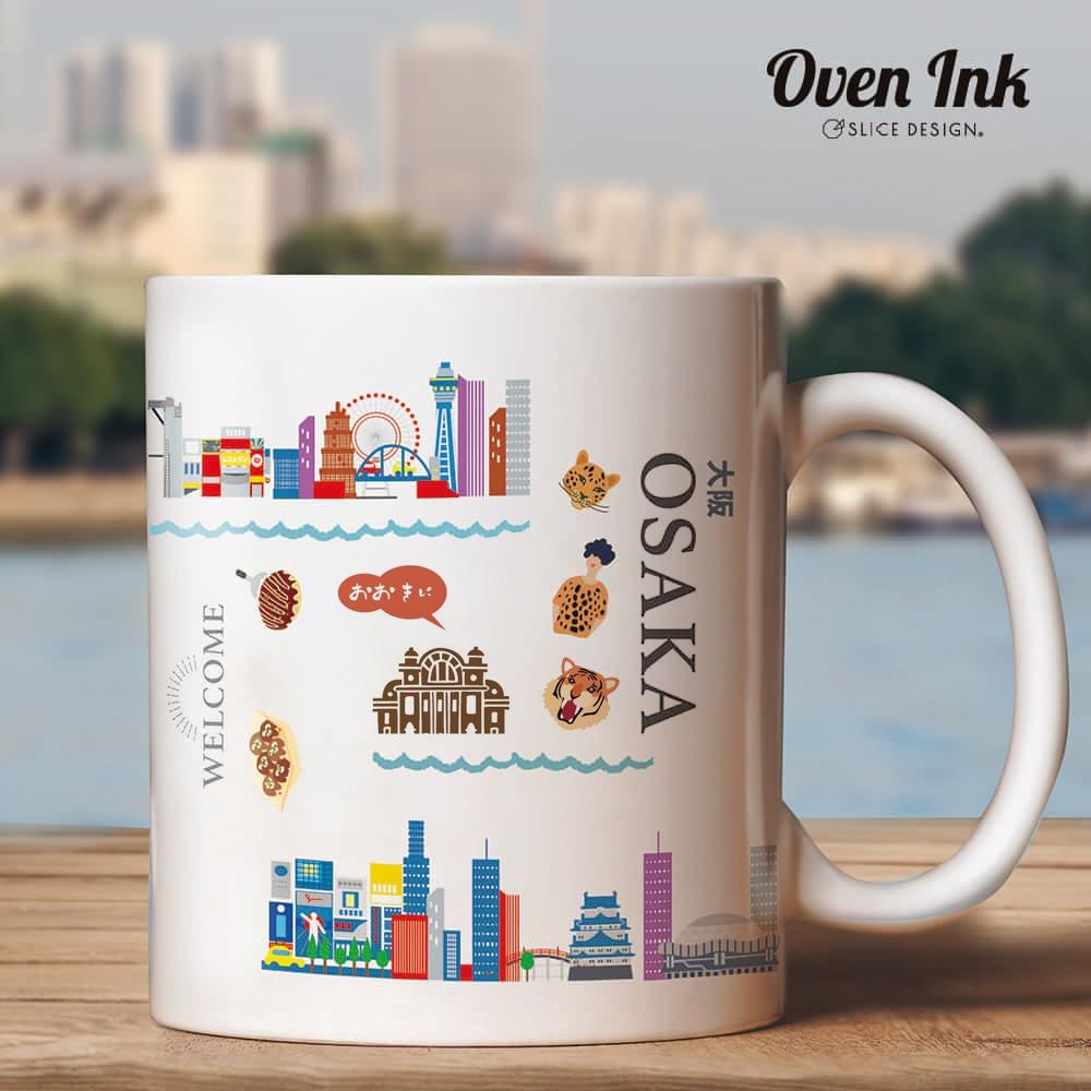 ウェルカム大阪 A5サイズ - Welcome OSAKA [オーブンインクアートシート][ネコポス配送可] ■OVEN INK-オーブンインク(オーブンレンジ焼成用)