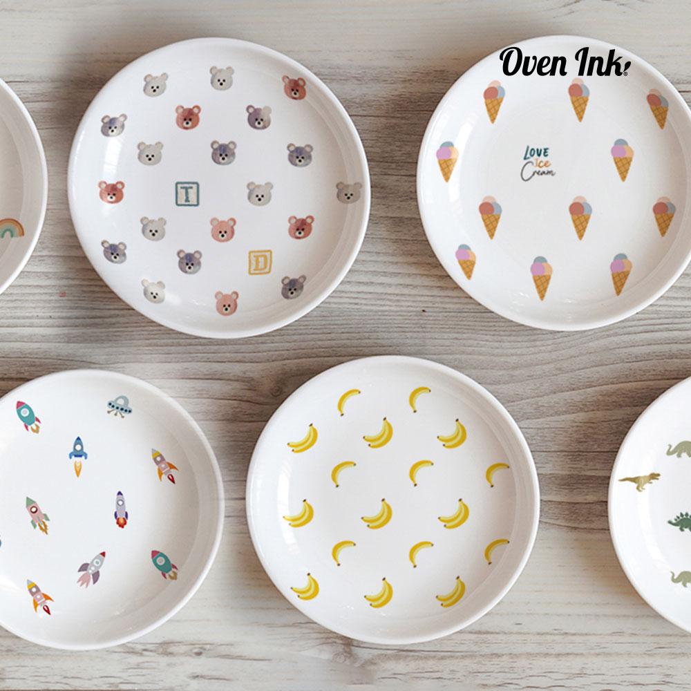 [ミクロ]アイスクリーム - [micro]Icecream [オーブンインクアートシート][ネコポス配送可] ■OVEN INK-オーブンインク(オーブンレンジ焼成用)