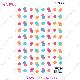 [ミクロ]水玉 - [micro]Waterdrop [オーブンインクアートシート][ネコポス配送可] ■OVEN INK-オーブンインク(オーブンレンジ焼成用)