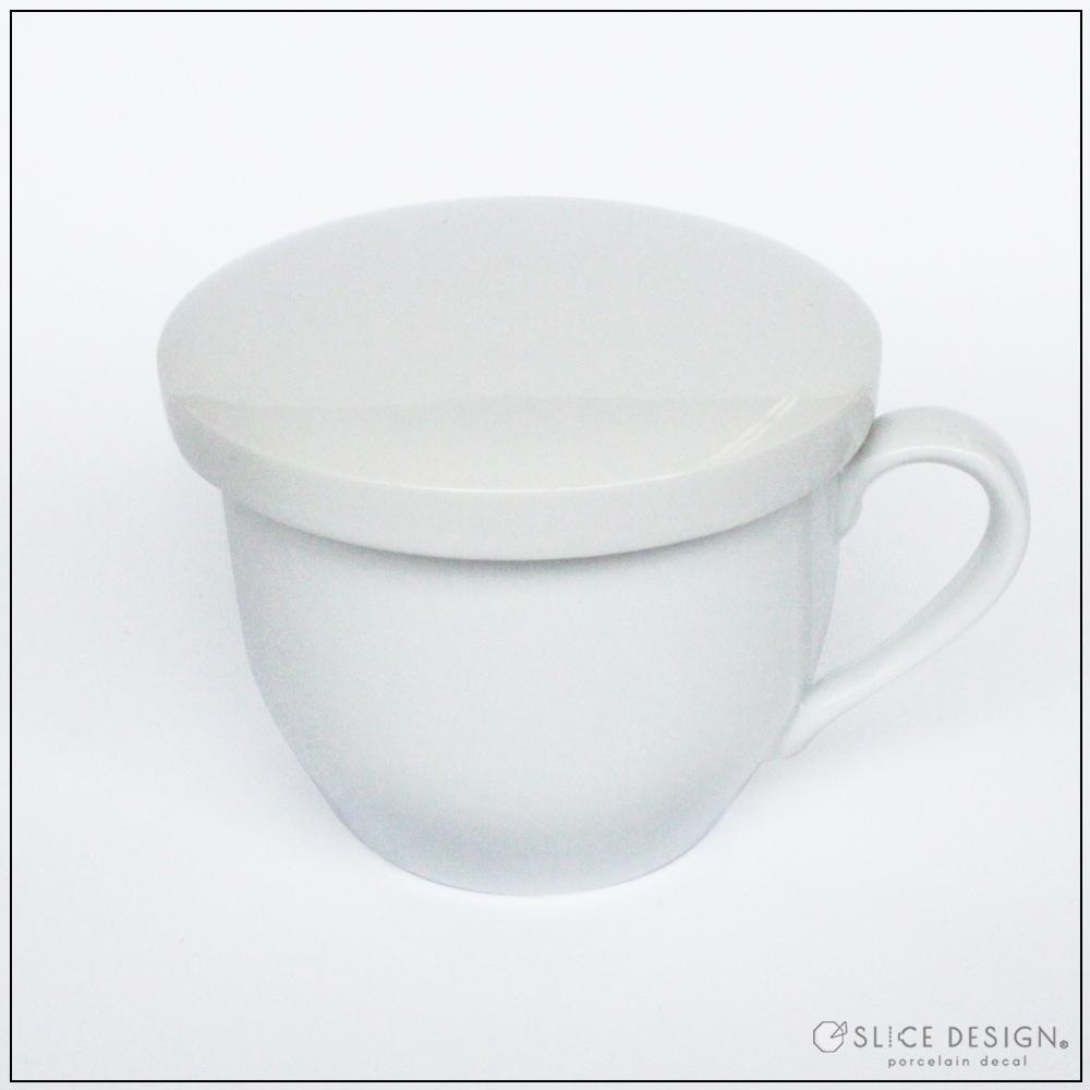 和カップ かぶせ蓋つき [宅配便配送] ■白磁・ガラス