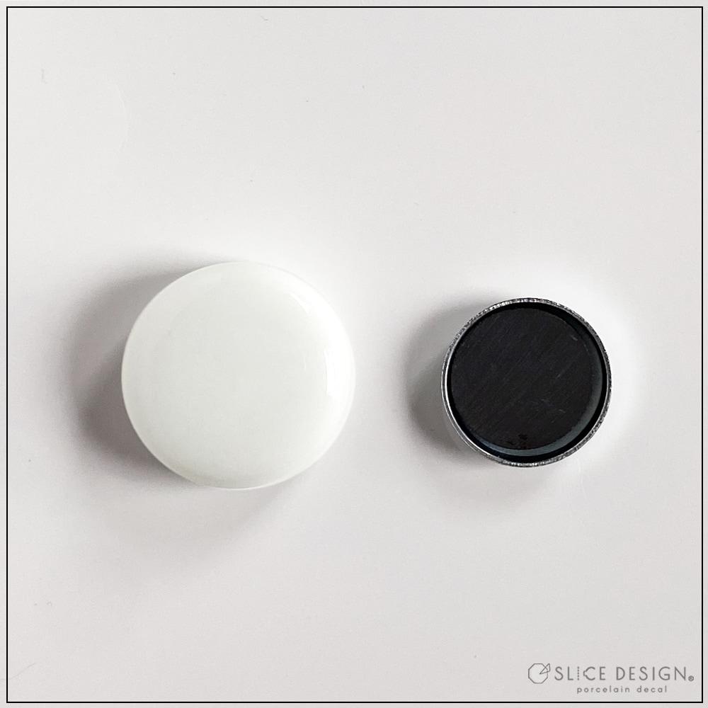 マグネット [ネコポス配送可] ■白磁・ガラス