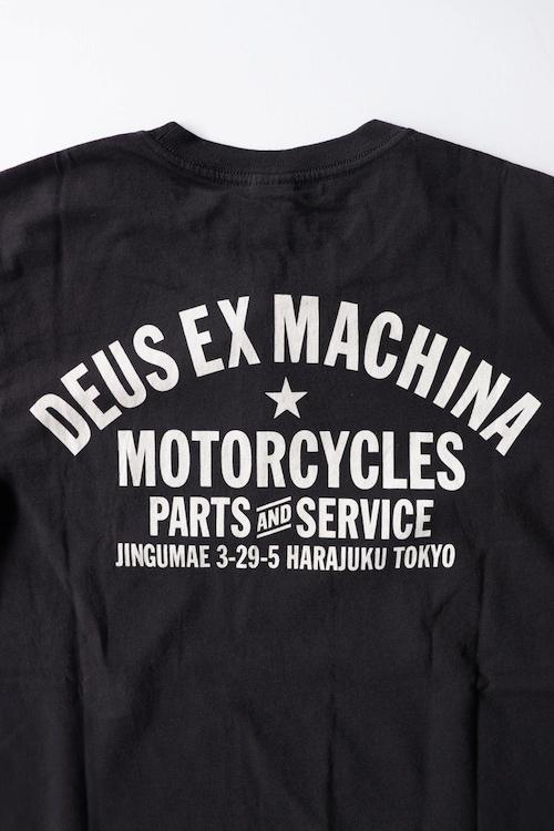 DEUS EX MACHINA/TOKYO ADDRESS TEE