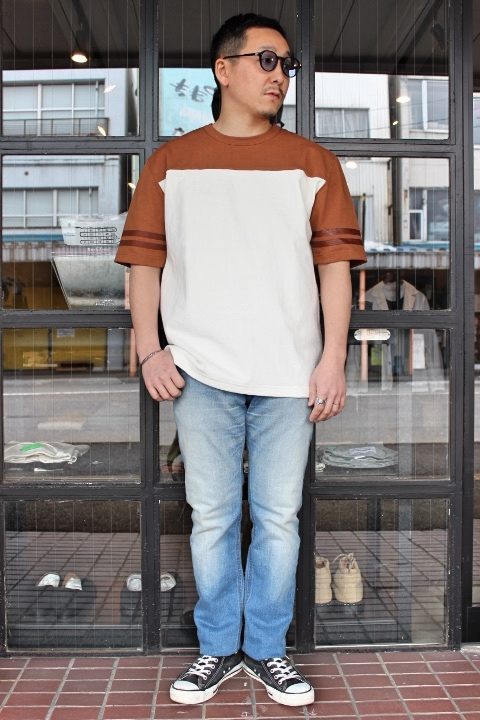 ANASOLULE/Sloop limited model FootBall-Tee