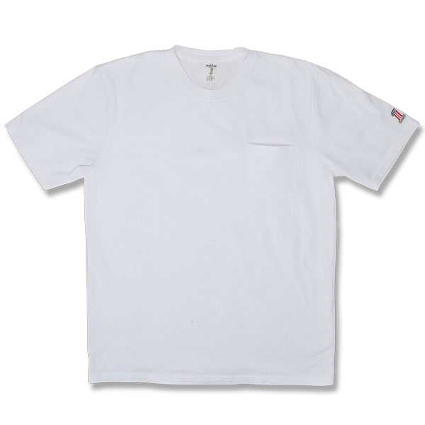 BACKDROP/HEAVY OZ POCKET TEE