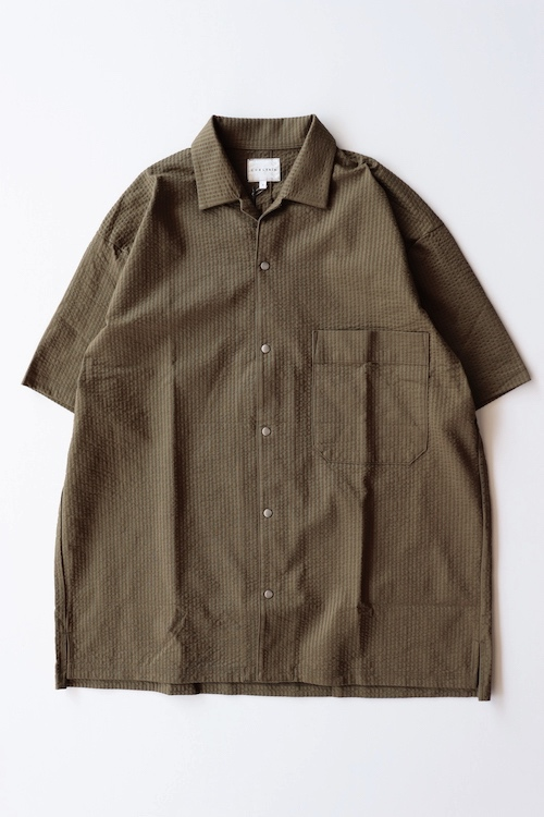 "CURLY/PROSPECT S/S SHIRTS ""SEERSUCKER"""