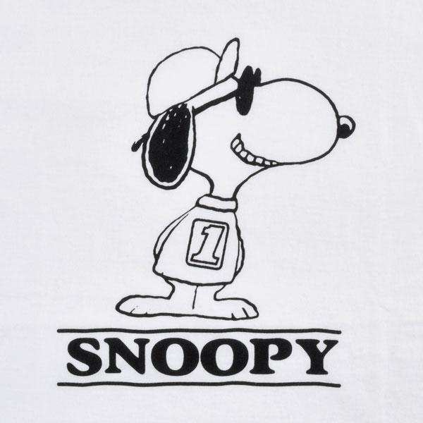 """BACKDROP x PEANUTS TEE /SNOOPY """"BD NO1"""""""