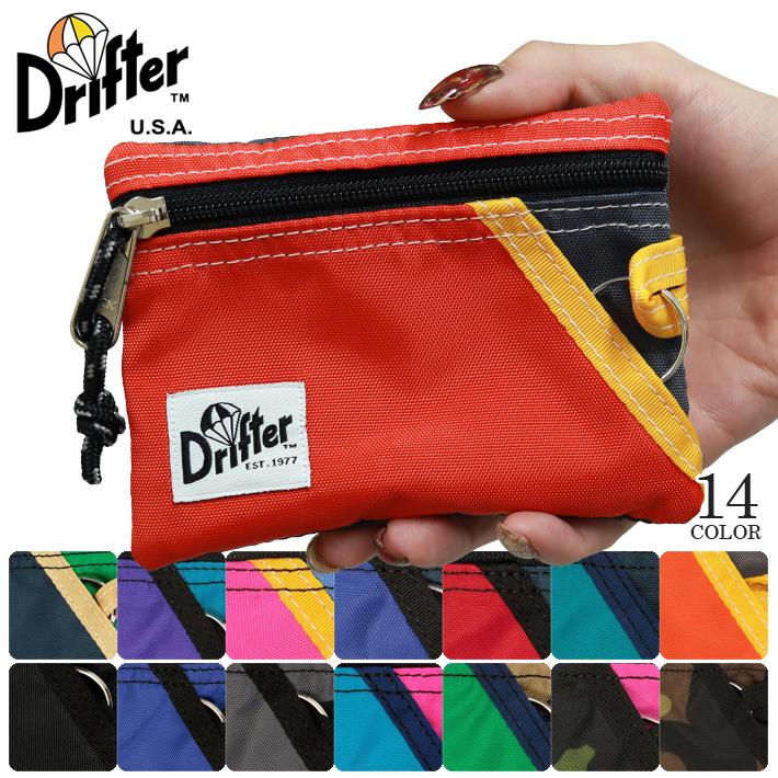 Drifter USA ドリフター KEY COIN POUCH キーケース コインケース カードケース パスケース ICカード 小銭入れ アウトドア 旅行