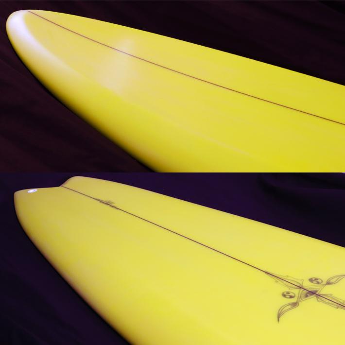 """【RYAN BURCH SURFBOARDS】ライアンバーチ サーフボード CUTTLE FISH MODEL 5'5"""" サンディエゴで最もアツい若手シェイパー入手困難"""